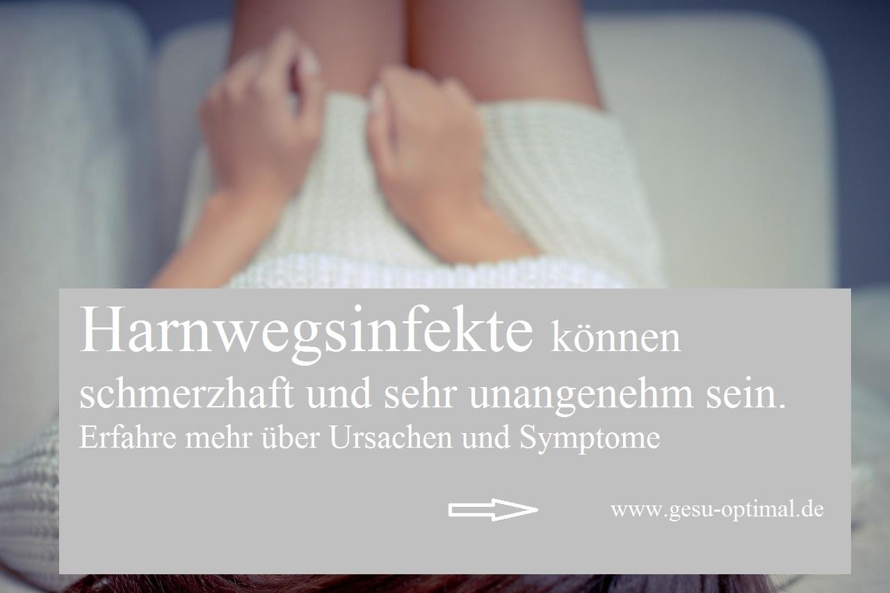 Symptome und Ursachen bei Harnwegsinfekten