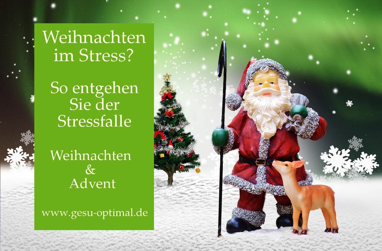 Wie Weihnachten nicht zur Stressfalle wird