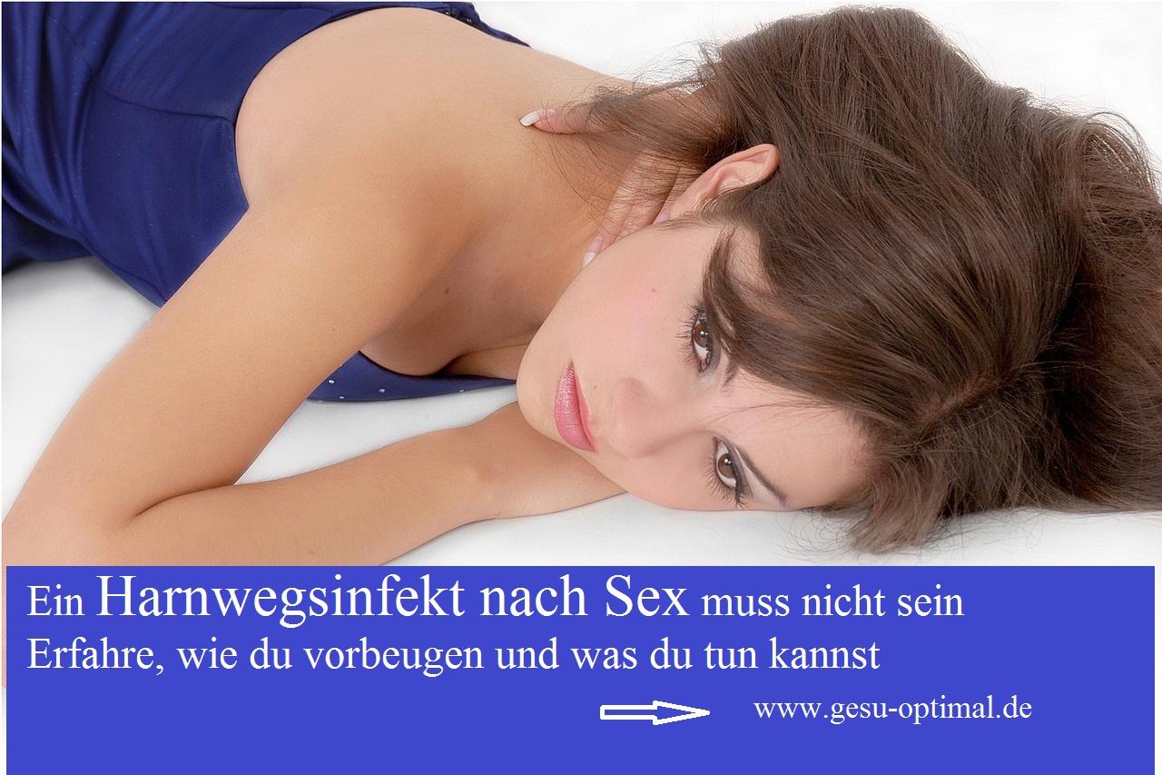 Harnwegsinfekt nach Sex - oft ein Frauenproblem