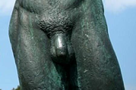 Sekret aus dem Penis - Hauptsymptom für Harnröhrenentzündung.-