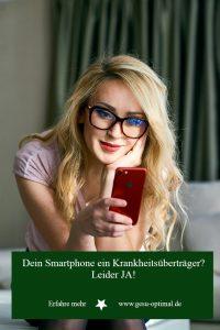 Smartphones – Tummelplatz für Keime und Viren
