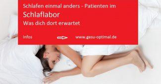 Was Patienten im Schlaflabor erwartet