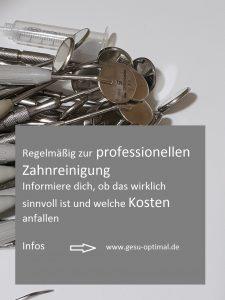 Professionelle Zahnreinigung - was man wissen sollte