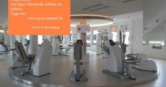 Wie Sie das passende Fitnessstudio finden