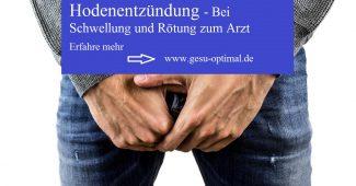 Hodenentzündung - Bei Schwellung und Rötung zum Arzt