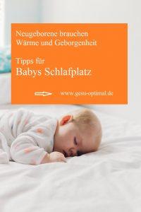 Babys Schlafplatz – so wird er sicher und kuschelig