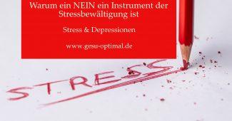 Stressbewältigung üben, öfter Nein sagen