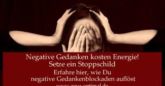Negative Gedanken stoppen – so gelingt es