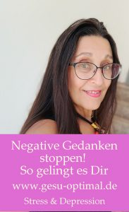Negative Gedanken stoppen - so gelingt es