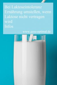 Laktoseintoleranz – Auf Kalziumversorgung achten