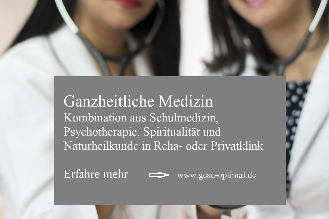 Ganzheitliche Medizin im heilsamen Umfeld.