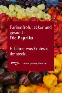 Paprika – Wie gesund ist sie eigentlich.-