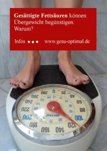 Gesättigte Fettsäuren reduzieren für die Gesundheit
