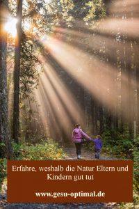 Natur als Kraftquelle und Stressabbau nutzen-